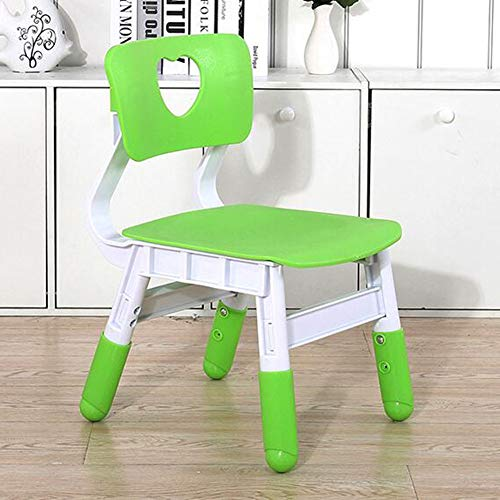 Chairs CJC Stools Children's Bedroom Furniture Seat Garden Nursery School (Color : Green) by Chairs (Image #2)