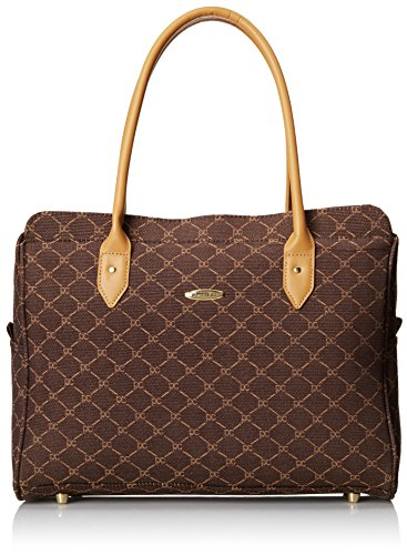 Pierre Cardin Signature 16 Inch Traditional Tote, Brown, One Size