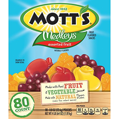 Mott's Medleys Assorted Fruit Snack (80 ct.) by Mott's
