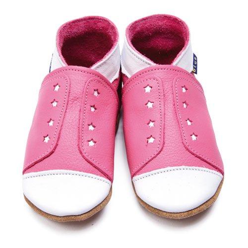 Inch Blue Chaussures Bébé Souples - Sneaker - Rose - T 20-22 cm