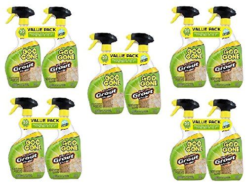 GOO GONE Grout Clean and Restore 28 oz. Trigger Value (10-Pack) by Goo Gone