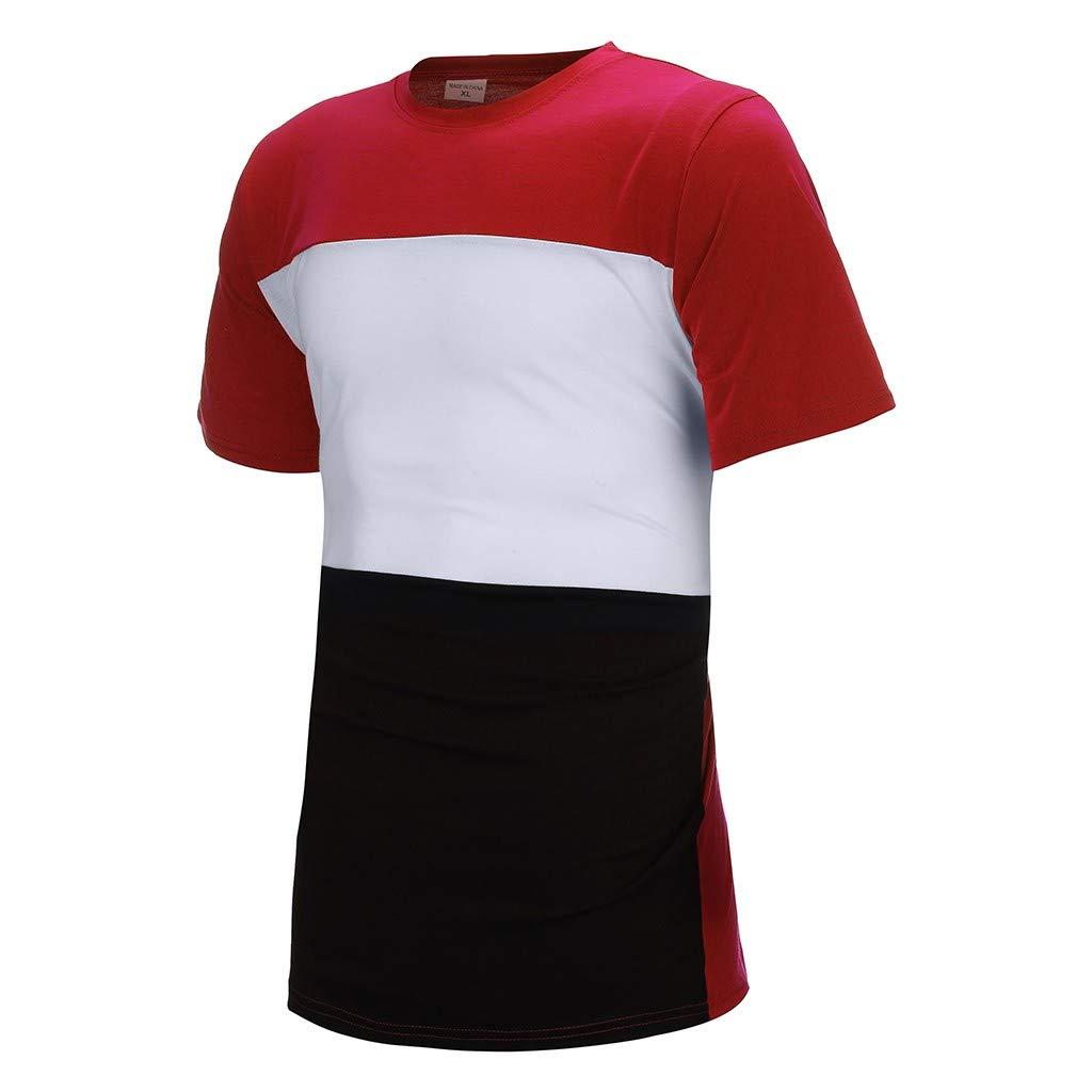 Nyuiuo Herren Sport Set Sommer Freizeit Sport 2 St/ück Outfit Herren 2 St/ück Outfit Sport Set Kurzarm Sommer Casual Shorts Thin Sets