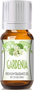 Gardenia Scented Oil by Good Essential (Premium Grade Fragrance Oil) - Perfect for Aromatherapy, Soaps, Candles, Slime, Lotions, and More!