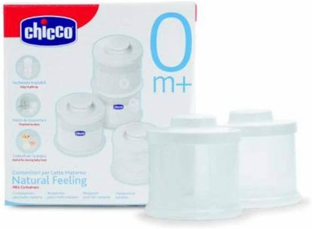 Chicco Breast Milk Containers 4