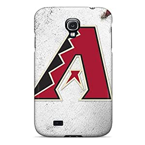 Shock Absorbent Cell-phone Hard Cover For Samsung Galaxy S4 With Unique Design Trendy Arizona Diamondbacks Skin RobAmarook