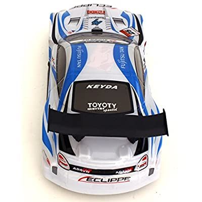 Bezrat Super-Fast Drift King R/C Sports Car Remote Control Drifting Race Car (Colors May Vary): Toys & Games