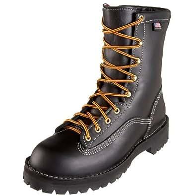 Danner Men's Super Rain Forest 200 Gram Work Boot,Black,7 EE US