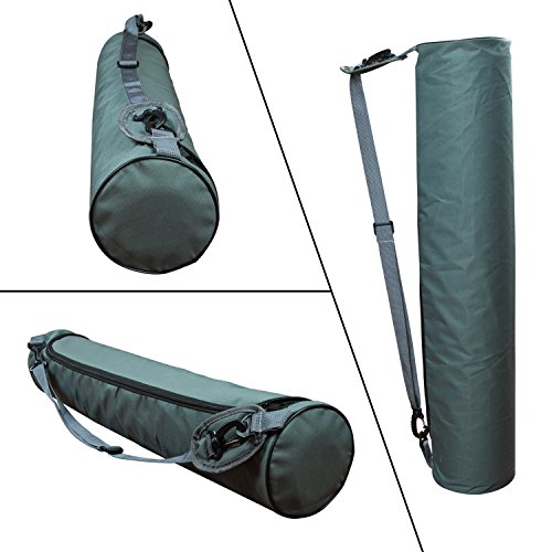 Eco Friendly Yoga Mat, Amovee Non Slip Extra Thick 72 inch Long Natural Rubber Yoga Mat with Free Carrying Bag