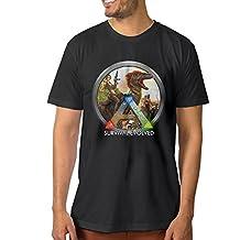 MASTER Men's ARK Survival Evolved ARPG T Shirt Short Sleeve Cotton Tee