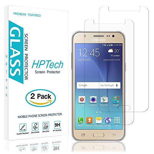 Cheap Screen Protectors Galaxy J7 Screen Protector , [2-Pack] HPTech Samsung Galaxy J7 (2016) Premium..