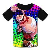 Custom Kids Captain-Underpants Tee Shirt T-Shirt for Children Boys Girls M