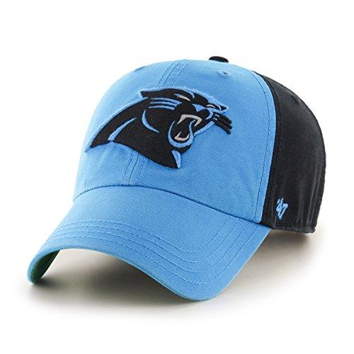 '47 NFL Black Flagstaff '47 Clean Up Adjustable Hat, One Size (Team Nfl Hat)
