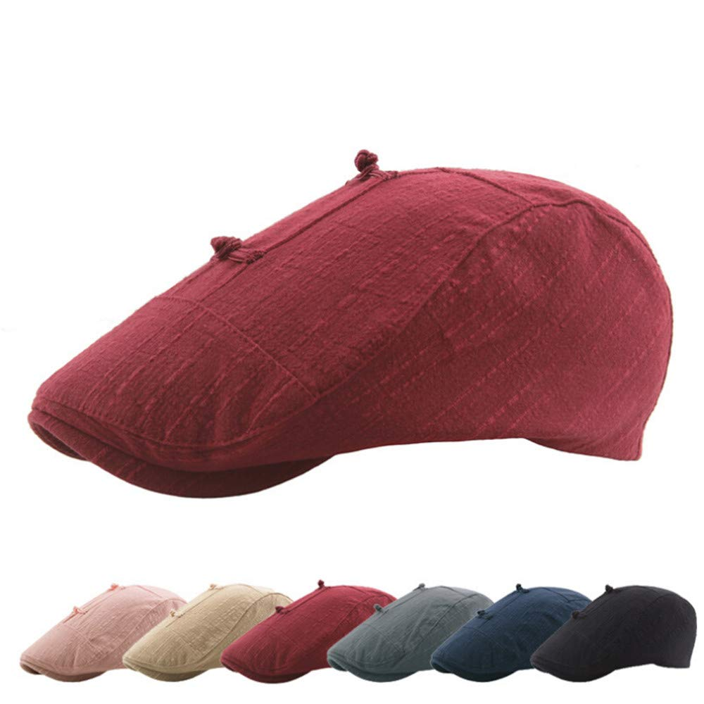 Gorra de algodón para Hombre, Estilo Vintage, para Conducir, Caza ...