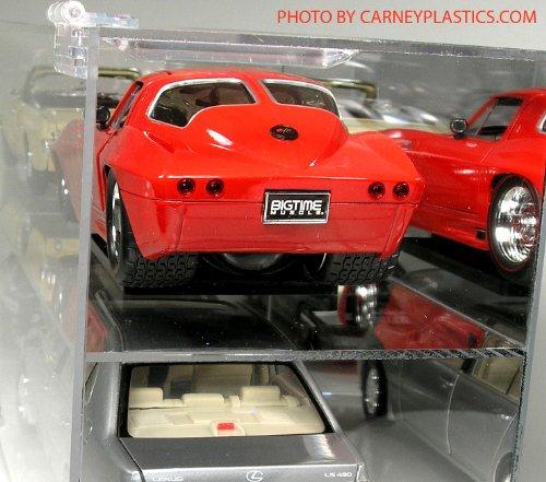 Model Car Display Case 12 Compartment 1:18 Diecast Car