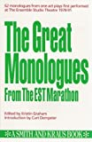 img - for Monologues from Contemporary Literature (Monologue Audition Series) by Eric Kraus (1992-08-31) book / textbook / text book