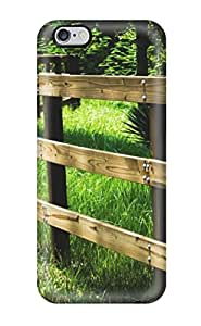 AmandaMichaelFazio Premium Protective Hard Case For Iphone 6 Plus- Nice Design - Roadside Fence Photography Scenic People Photography