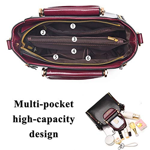 Donna Grey Shopping Lavoro A 92317 Per Viaggio Pelle Bag Exull Spalla Mano Tote Sacchetto Borse Shopper Grande Capacità Borsa Ufficio Pu rqxA4r