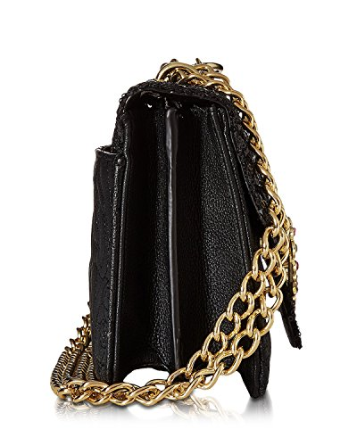 Bag Quilted Jewels Shoulder Crossbody Black Betsey Black Johnson Women's EYqtwnnxFg