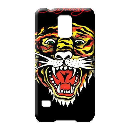 samsung galaxy s5 Heavy-duty New New Arrival Wonderful phone cover case ed hardy tiger black Ed Hardy New Tiger