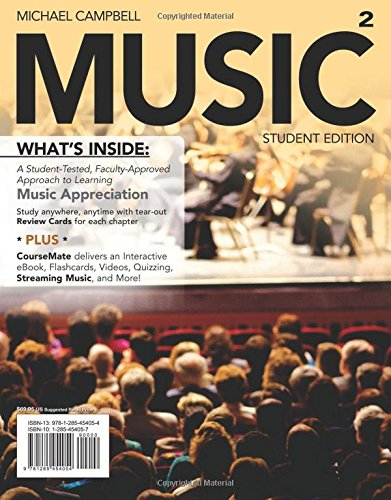 MUSIC2 (with CourseMate Printed Access Card) (New, Engaging Titles from 4LTR Press)