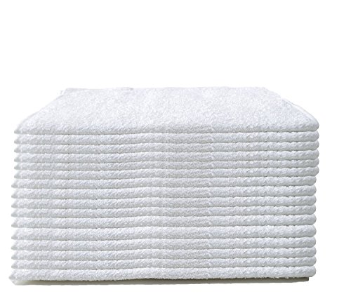 Cleaning Solutions 78992-60PK Premium Grade White Heavy Weight Terry Towel - Pack of 60 (Cotton Towels Terry)