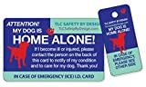 My Dog is Home Alone Pet Alert Emergency ICE ID