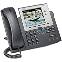 Cisco CP-7945G= 7945G Unified IP Phone, 2 x RJ-45 10/100/1000Base-T , Headset - 2Phoneline(s) (CiscoCP-7945G= )