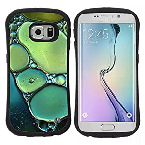 Hypernova Slim Fit Dual Barniz Protector Caso Case Funda Para Samsung Galaxy S6 EDGE [Soleil]