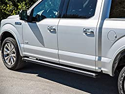 Ionic Billet Black Running Boards Dodge Ram 2014-2017 Crew Cab