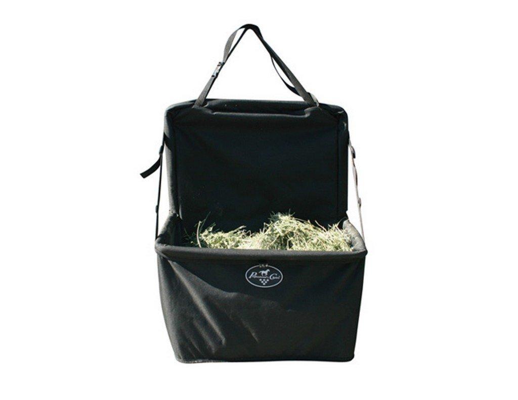 Professionals Choice 14X24X14 Equine Folding Combo Feeder Bag (Black)