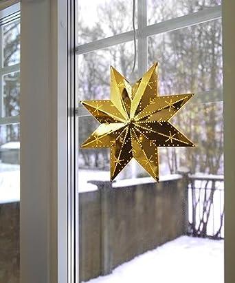 Magisch leuchtender STERN / Fenster - Licht / Fensterbeleuchtung ...