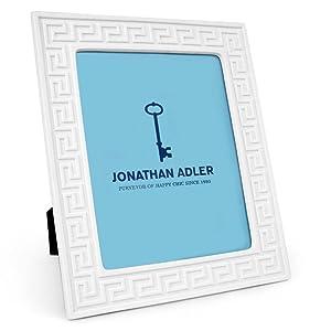 Jonathan Adler - 8x10 Frame - Charade Greek Key - White