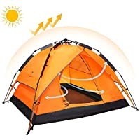 ZDCDEALS Shelter Waterproof Automatic Family Tent -...