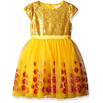 Disney by Tutu Couture Women' Magnificence and the Beast Belle Costume