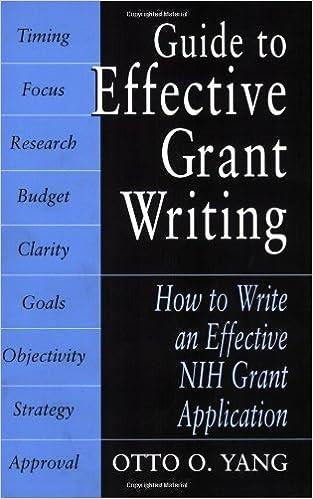 Téléchargez des livres en ligne pour kindleGuide to Effective Grant Writing by Otto O. Yang (French Edition) PDF ePub iBook