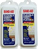 Johnson and Johnson Band-Aid Flex Fabric Travel Pack - 8 Each/pack, 6 Pack