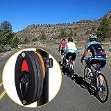 WOTOW Bike Foldable Lock, Bicycle Folding Lock