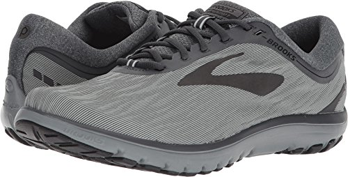 Brooks Men's PureFlow 7 Grey/Grey/Black 11 D US