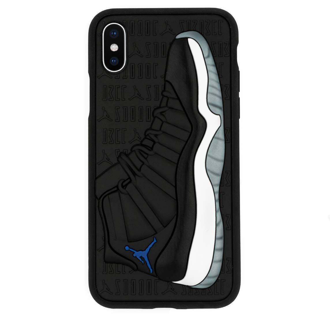 Funda iPhone X Modelo Jordan 11s 3d Textured [7h3gr9ds]