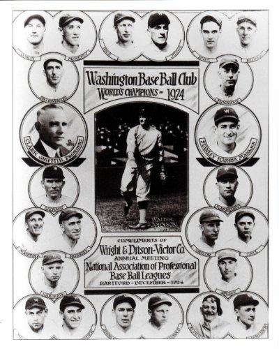 Team Photo Mint - 1924 Vintage Washington Senators 8x10 Team Photo Mint Condition