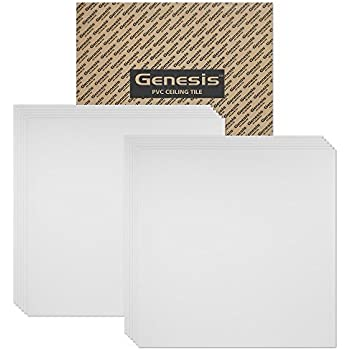 genesis smooth pro 2x2 ceiling tiles 4 mm thick carton of 12 u2013 these drop ceiling tiles are water proof and wonu0027t break fast and easy