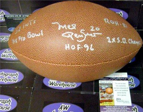 Autograph 190917 Inscribed Hof 96 Roh 2X Sb Champs 52 Ints Dallas Cowboys Hall of Fame Jsa Authentication Certificate Mel Renfro Autographed - Int Sb