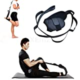 XEMZ Fitness Yoga Strap, Ankle Ligament Stretch Band, Hamstring Stretcher, Physical Therapy Belt with Handling Loops, Leg and Foot Stretch Assist, for Workout Dance Gym Rehab Tension