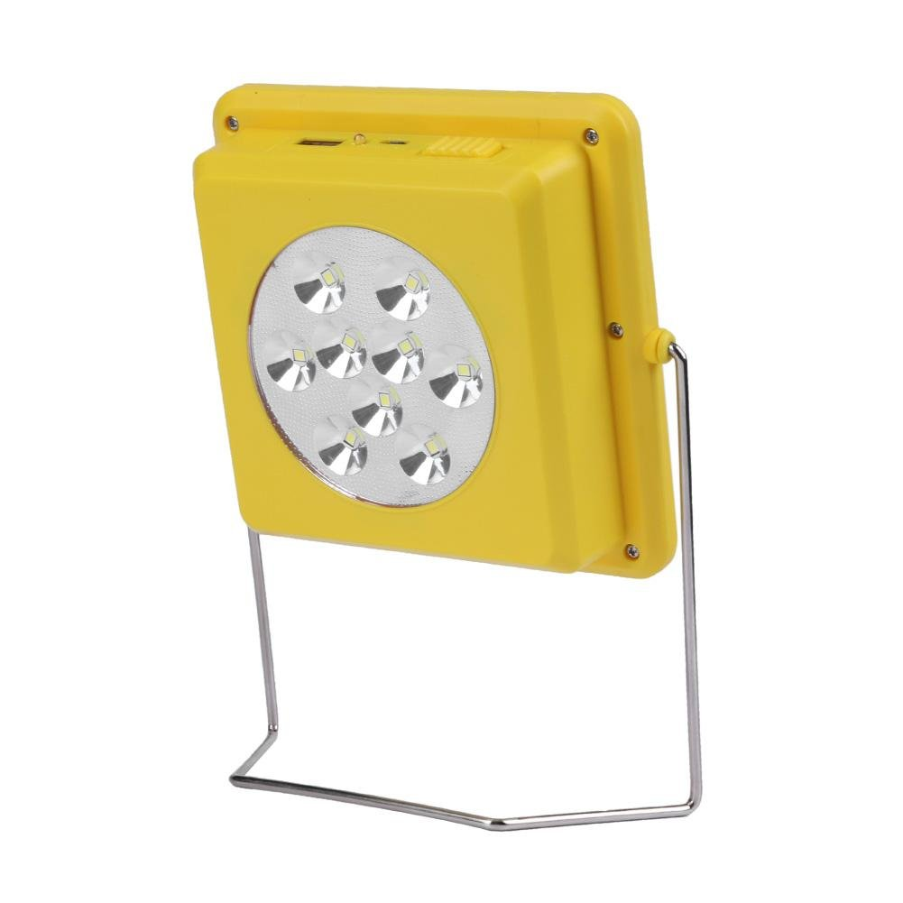 Whitelotous Portable Universal Solar Power Charger Battery LED Light for Phone Samsung and other Smart Devices