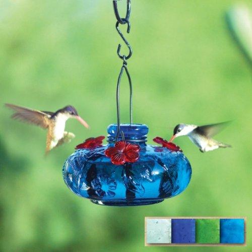 - Par-A-Sol - Bloom Calliope Hummingbird Feeder-Aqua- BLOOMCALAQ