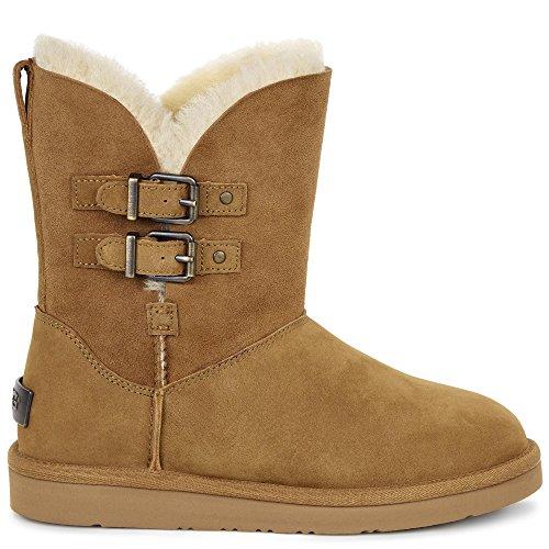 Ugg Damenschuhe - Gefütterte Stiefel Renley - Chestnut Braun (Chestnut)