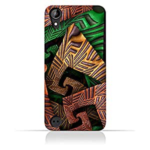 AMC Design HTC Desire 530 Fractal Art 04 Design Case - Multi Color