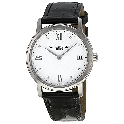 Baume-Mercier-Womens-BMMOA10146-Classima-Analog-Display-Swiss-Automatic-Black-Watch
