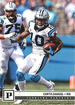 2018 Panini NFL Football  48 Curtis Samuel Carolina Panthers Official  Trading Card 32ea48ddc
