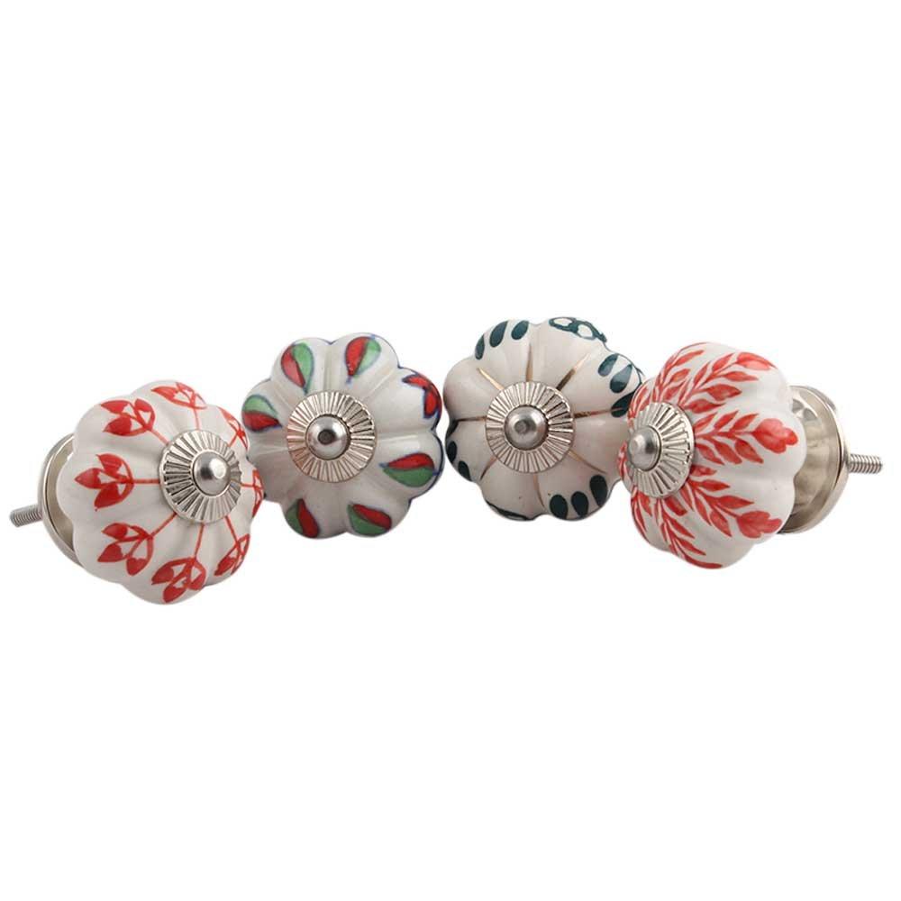 2 piezas piedra vintage IndianShelf Pomos de puerta hechos a mano para caj/ón de ba/ño color turquesa
